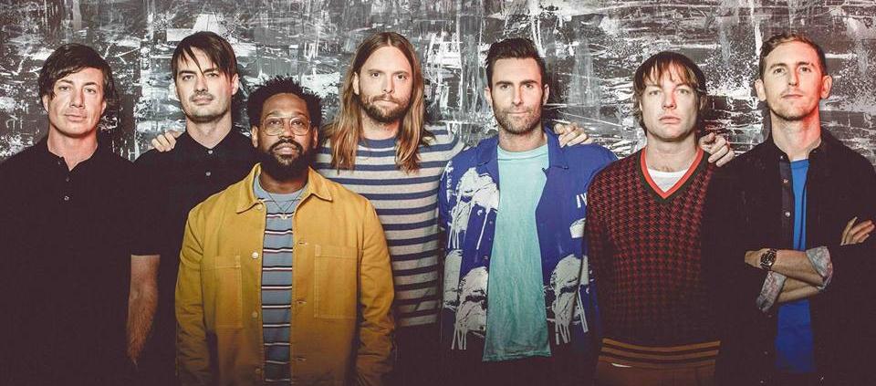 Maroon 5 ligger nummer 2 på VoxHot-listen