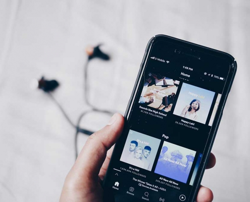 Det man hører, slår musikken ihjel