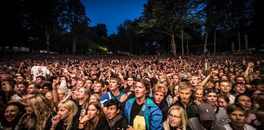 UNDERSØGELSE: Denne landsdel er vildest med festivaler