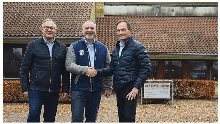 Lokal bank opretter ny afdeling i gammelt rådhus