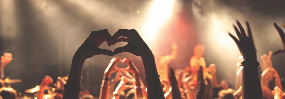 Positivt indtryk af festivalers musik