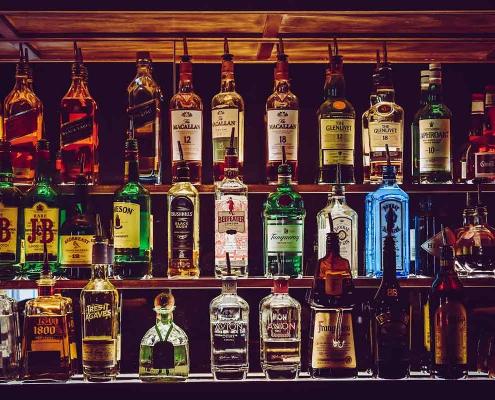 Stort drikkeudvalg