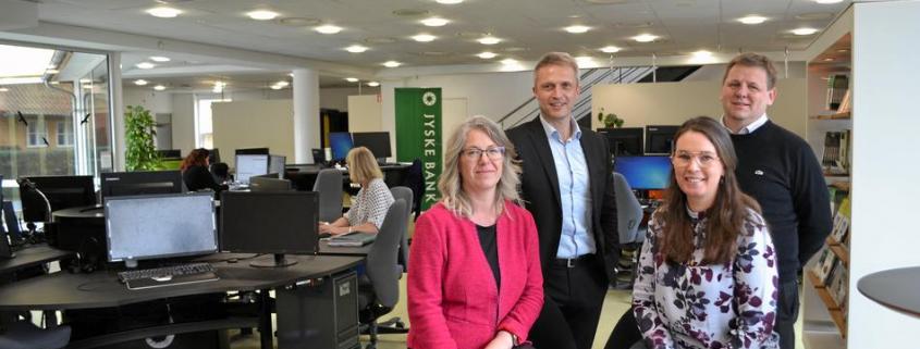 Balancen mellem kunde, medarbejder og aktionær er i fokus hos Jyske Bank