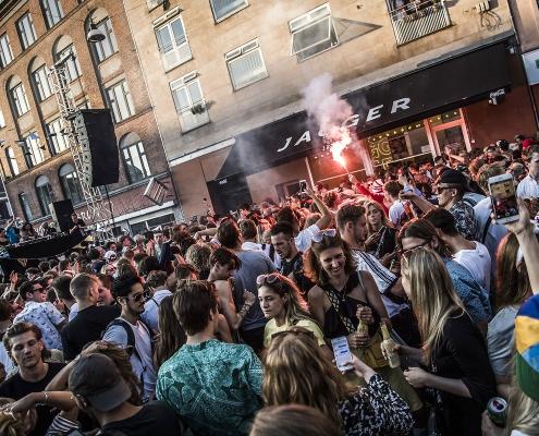 Gadefestivalen Distortion i København. Dag 1 på Nørrebro.