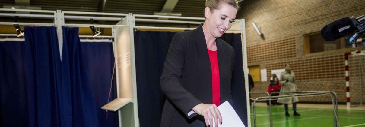 Danmark får onsdag et nyt politisk danmarkskort