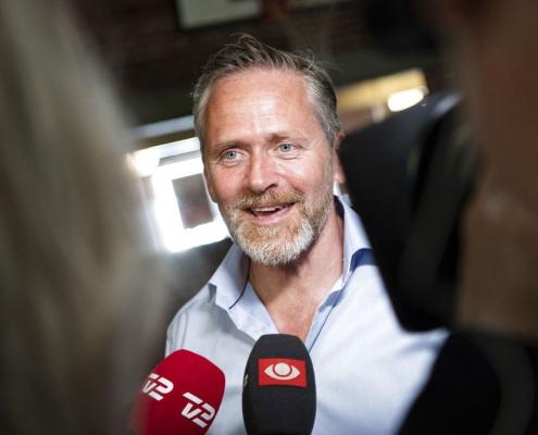 Samuelsen i stemmelokalet: Vi er det ægte liberale parti