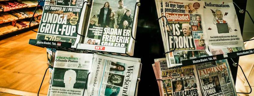 Aviser i kiosk
