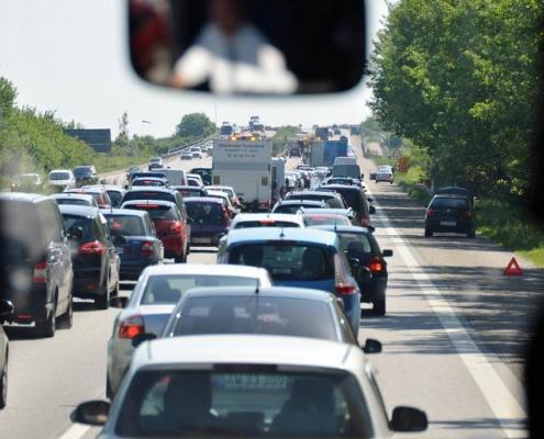 Trods udsigt til kø: Rigtig mange danskere tager bilen på ferie