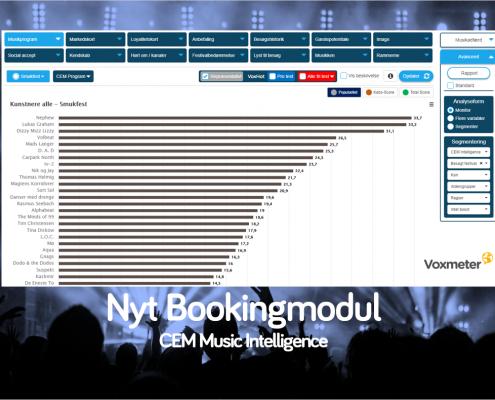 Nyt bookingmodul