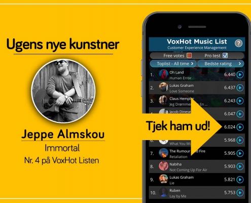Ugens nye kunstner - Jeppe Almskou
